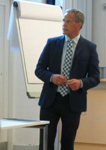 Kommunaldirektoer Frank E Andersen Gentofte