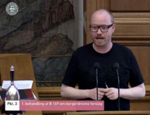 Rasmus Nordqvist, Alternativets ordfører